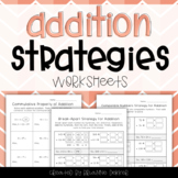 Addition Strategies Worksheets - Third Grade GoMath!