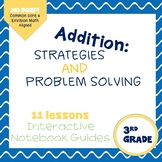 Addition Strategies and Problem Solving (enVision Topic 2) Interactive Notebook