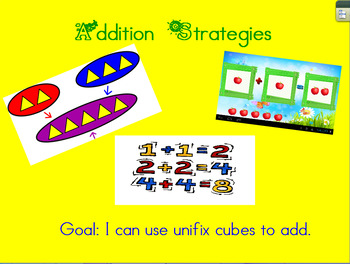 Addition Strategies for ActivInspire