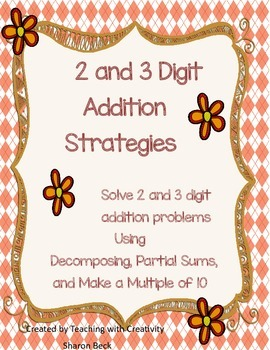 Addition Strategies for Common Core