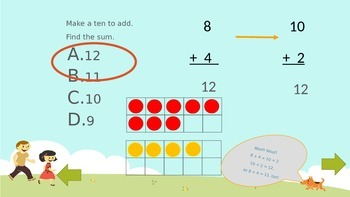 Addition Strategies to 20 Review Game