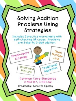 Addition Strategies with QR Codes