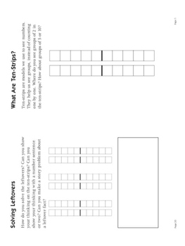 Addition Strategy Book