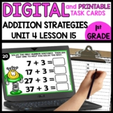 Addition Strategy | DIGITAL TASK CARDS | PRINTABLE TASK CARDS