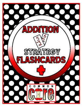 Addition Strategy Flash Cards