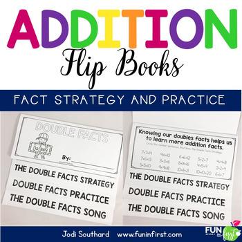 Addition Strategy Flip Books