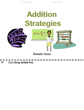 Addition Strategy Folding book