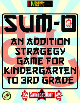 Addition Strategy Game for Partners: Sum-O!
