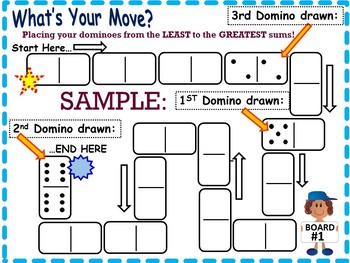 Number Sense Games Using Dominoes