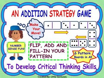 Number Sense with Problem Solving Games