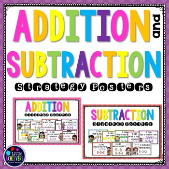 Addition and Subtraction Posters - Mental Math Strategy