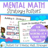 Addition Strategy Posters for the Addition Facts