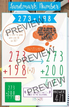 Addition Strategy Posters for Regrouping (set of 5)