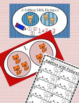 Addition Strategy Practice-Three INTERACTIVE DIGITAL TASK CARD CENTERS