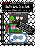 Addition Strategy Practice-Three INTERACTIVE DIGITAL TASK