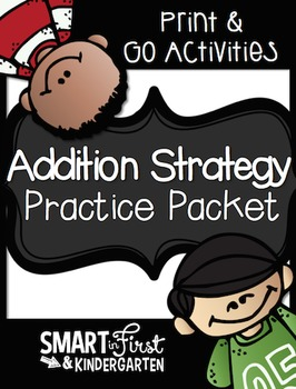 Addition Strategy Print and Go Packet