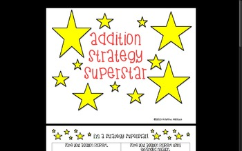 Addition Strategy Superstar