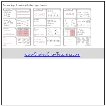 Addition Strategy Task Cards: Doubles and Extensions (Third Grade)
