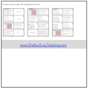Addition Strategy Task Cards: Left-to-Right Addition (Fourth Grade)