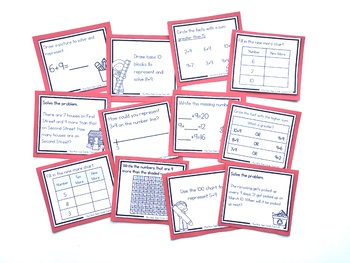 Addition Strategy Task Cards: Plus Nine Facts (Sums to 20)