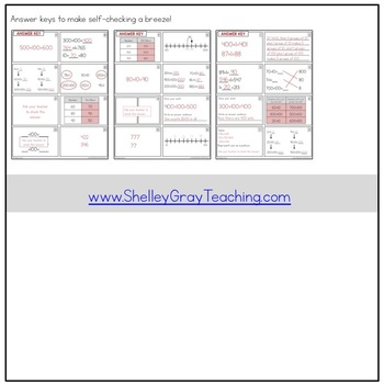 Addition Strategy Task Cards: Plus One and Extensions (Third Grade)