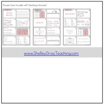 Addition Strategy Task Cards: Plus Three and Extensions (Fourth Grade)
