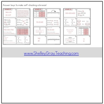 Addition Strategy Task Cards: Plus Three and Extensions (Third Grade)