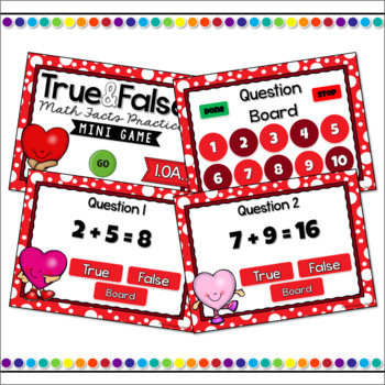 Addition & Subtraction Mini Game Bundle