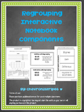 Addition & Subtracting with Regrouping Interactive Notebook