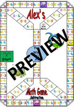 Addition & Subtraction 2 Math Game Set