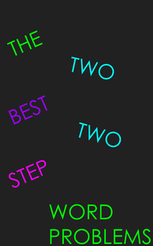 Addition & Subtraction 2-step Problem