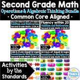 Addition & Subtraction 2nd Grade: Activities by the Standa