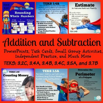 Addition Subtraction 3rd Grade