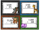 Addition & Subtraction Animal Flashcards