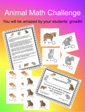 Addition & Subtraction Animal Math Challenge that WORKS!!!  Test Prep!