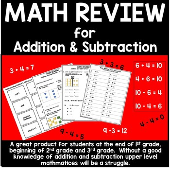 Math Review - Early Elementary