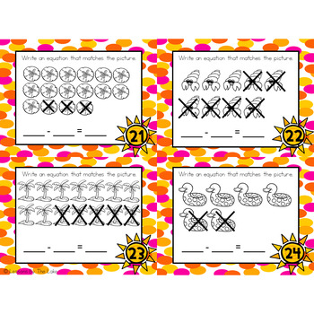 Addition & Subtraction Basic Fact Task Cards