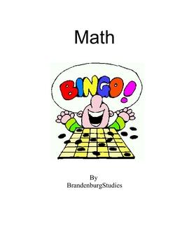 Addition Subtraction Bingo