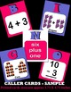 Addition Subtraction Bingo with Interactive Whiteboard Option