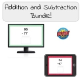 Addition & Subtraction Boom Cards Bundle!