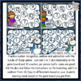 Addition & Subtraction Bump Games Bundle - Winter themed