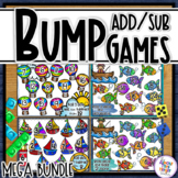 Addition & Subtraction Bump Games Bundle