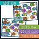 Addition & Subtraction Bump Games Bundle - sailing & fishi