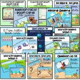 Addition & Subtraction Bundle, Distance Learning, Boom Cards