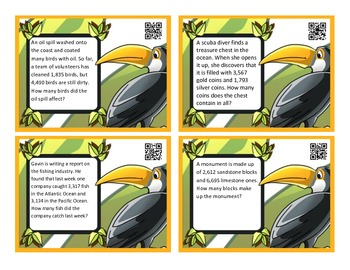 Addition & Subtraction Combo - 4 packs - QR Codes