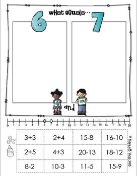 ADDITION & SUBTRACTION: Compare, Cut & Sort