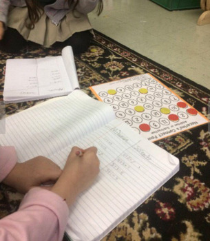 Addition / Subtraction Connect Four Game
