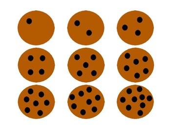 Addition & Subtraction Cookie Flip - Kindergarten to 1st grade
