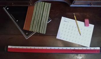 Addition/ Subtraction Desk Zipper