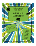 Addition & Subtraction Differentiated Number Story Task Cards